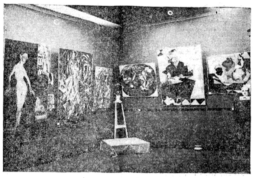 Vista de la exposición en la sala Kuhn - El Heraldo de Madrid.