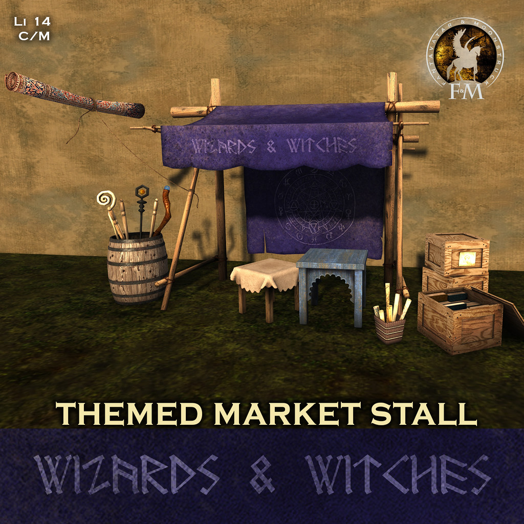 F&M Wizard & Witches Market Stall