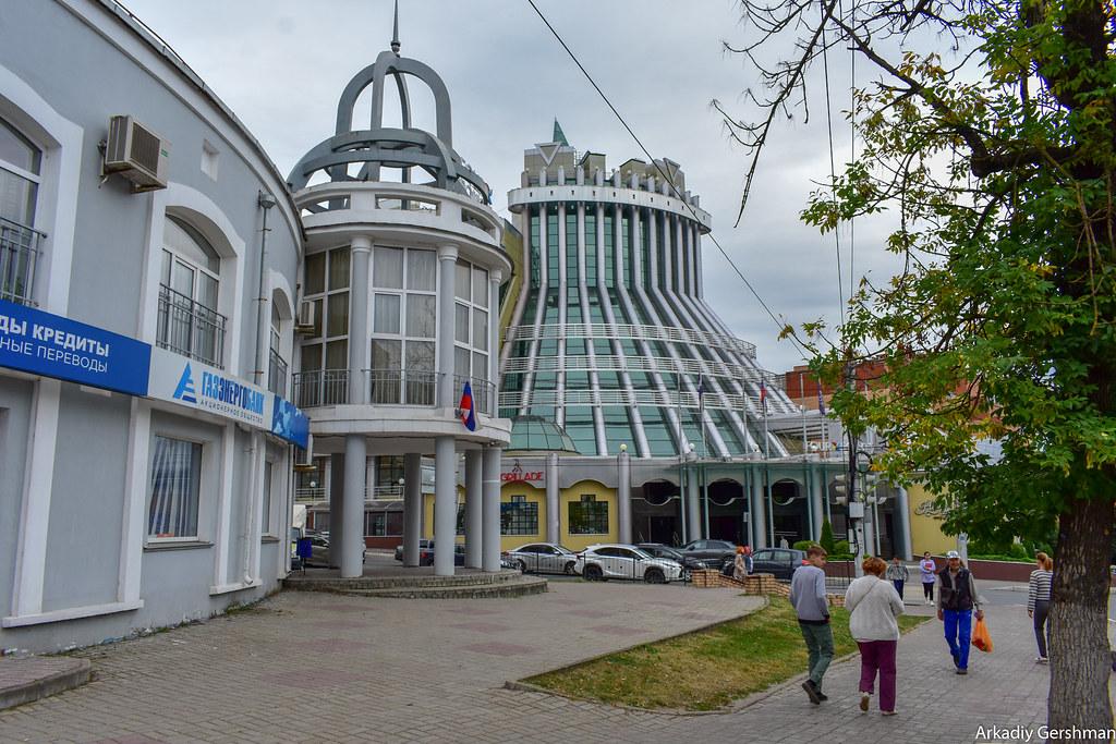 Калуга: пресность и застой архитектура,путешествия,благоустройство,озеленение,Калуга,общественный транспорт