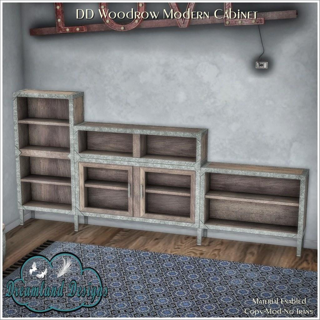 DD Woodrow Modern Cabinet AD