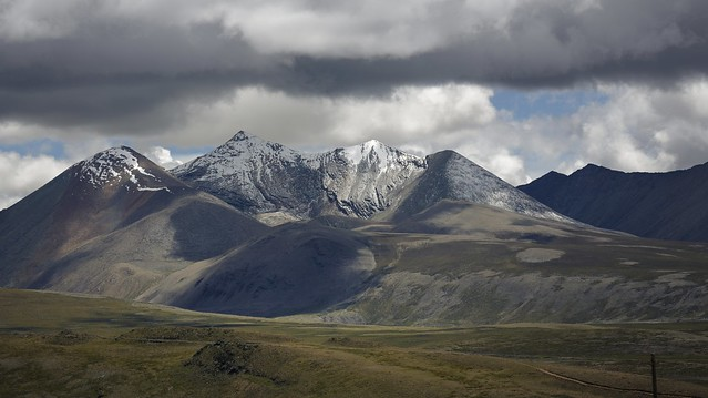 Landscape of Dingri county, Tibet 2019