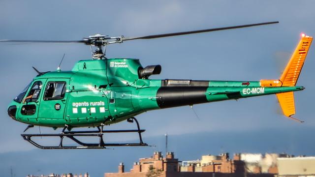 Aerospatiale AS350 B3 Ecureuil EC-MCM