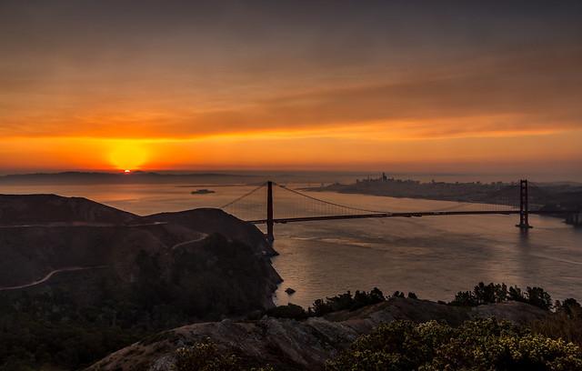 Another Smoky Sunrise
