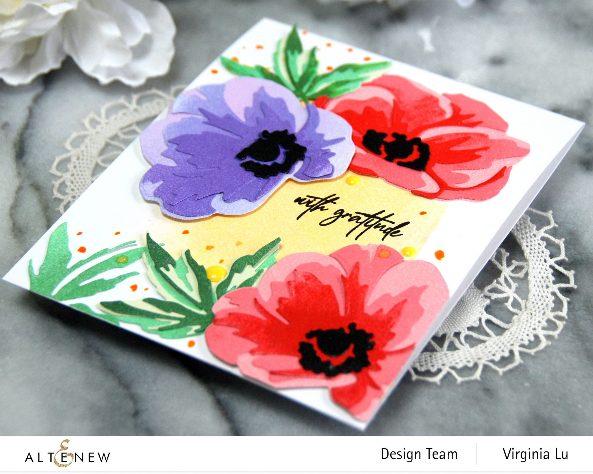 Altenew-CAF Anemone-Fragile Foliage Stamp Set-002