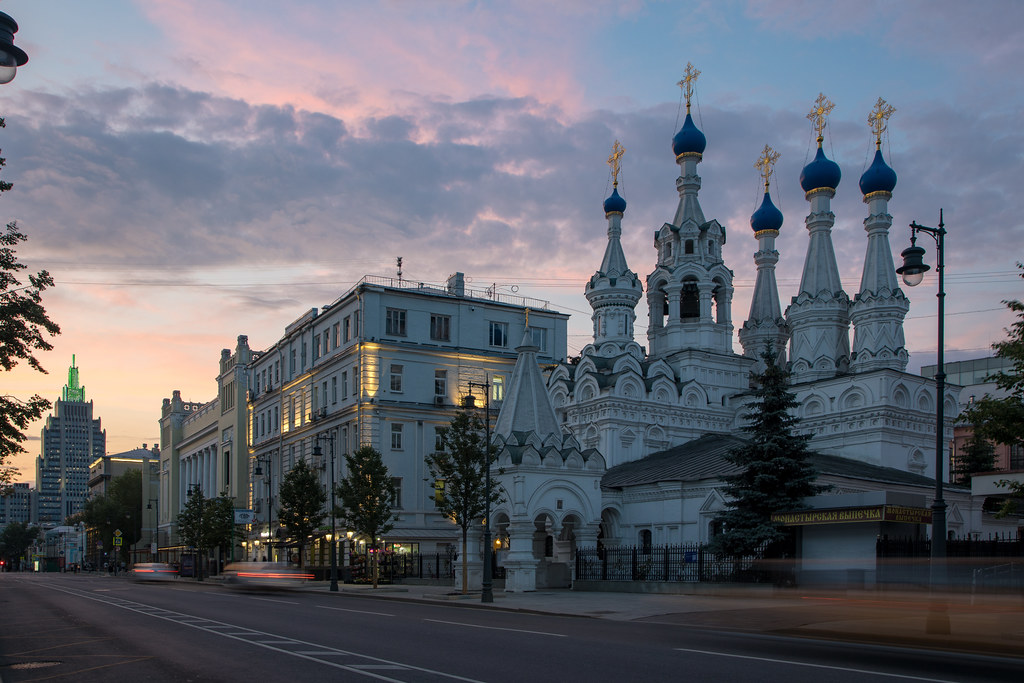 Mystic time. Moscow, Russia