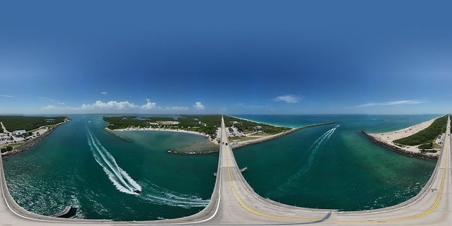 The A1A Bridge over Sebastian Inlet