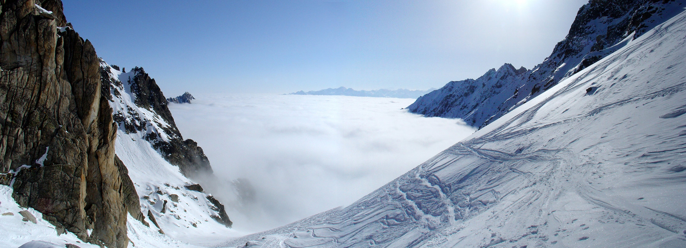 Val Arpette (Day2, H.R. Chamonix-Zermatt) Walliser Alpen / Alpes valaisannes Švýcarsko panorama 19