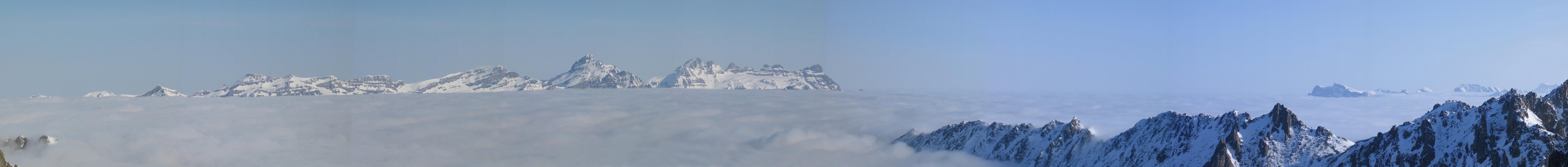 Val Arpette (Day2, H.R. Chamonix-Zermatt) Walliser Alpen / Alpes valaisannes Švýcarsko panorama 20