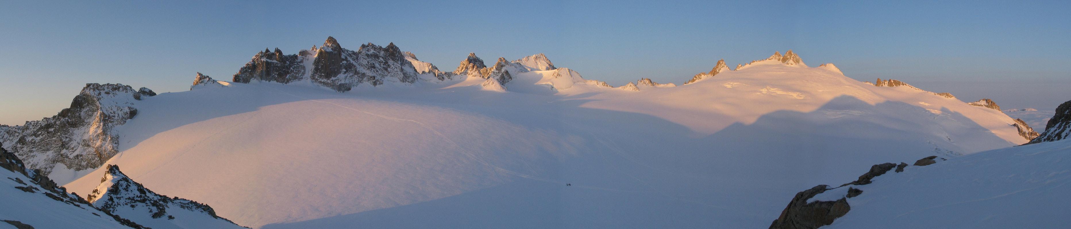 Val Arpette (Day2, H.R. Chamonix-Zermatt) Walliser Alpen / Alpes valaisannes Švýcarsko panorama 06