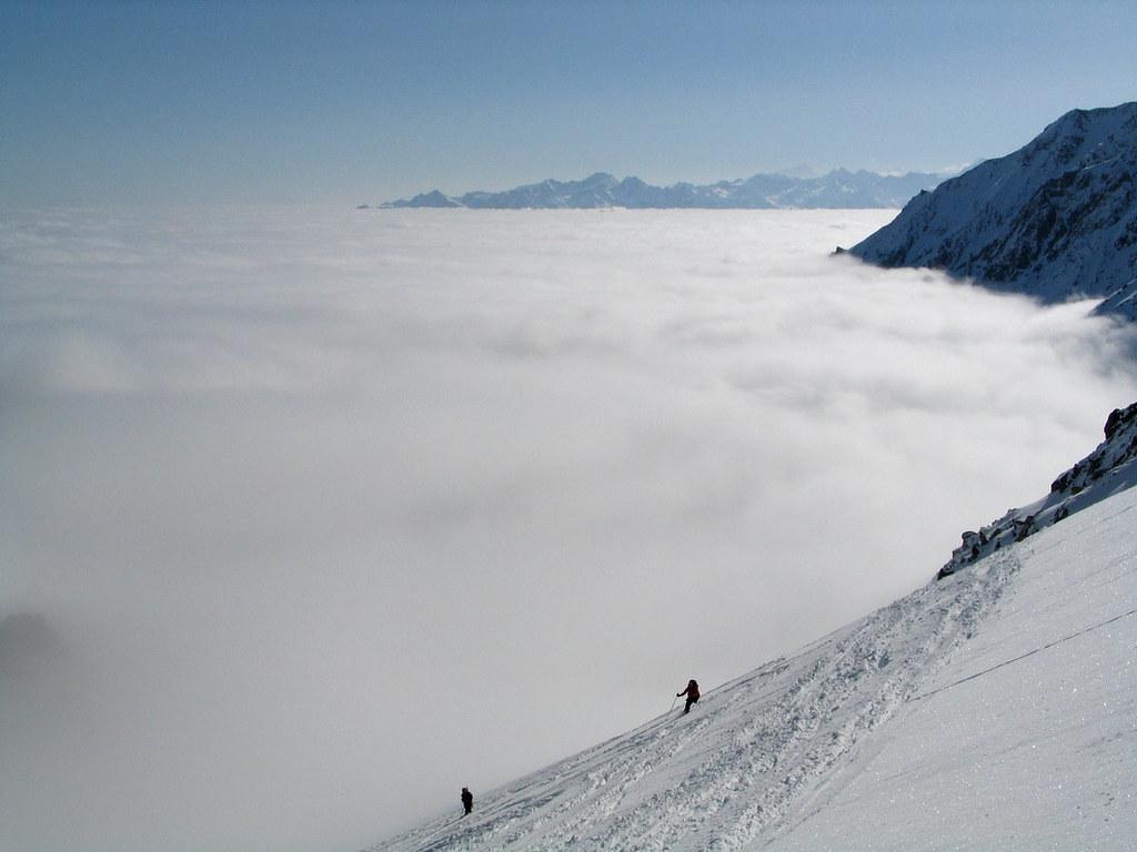 Val Arpette (Day2, H.R. Chamonix-Zermatt) Walliser Alpen / Alpes valaisannes Švýcarsko foto 18