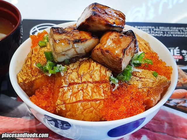 sushi hiro bangkok foie gras salmon