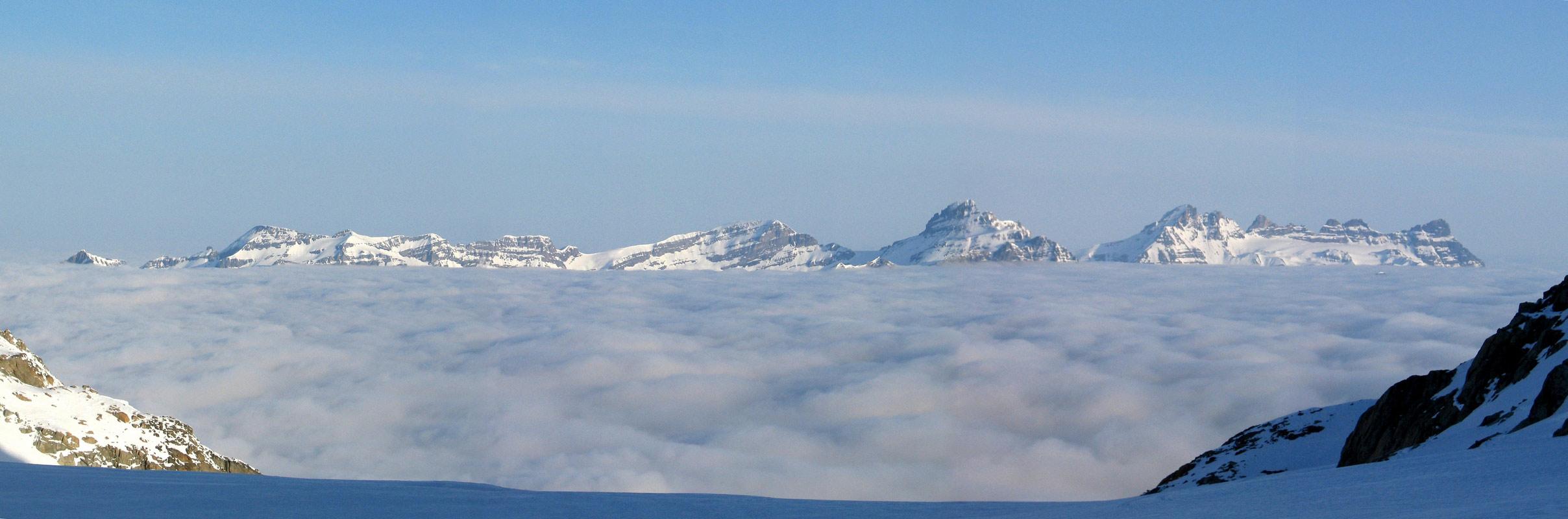 Val Arpette (Day2, H.R. Chamonix-Zermatt) Walliser Alpen / Alpes valaisannes Švýcarsko panorama 17