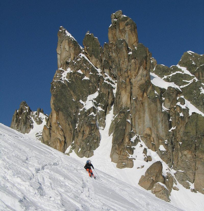 Val Arpette (Day2, H.R. Chamonix-Zermatt) Walliser Alpen / Alpes valaisannes Švýcarsko foto 16