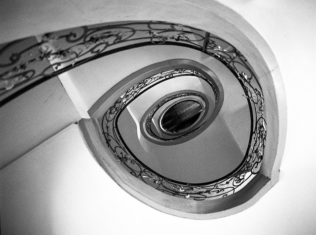 Berlin, Staircase, Hackesche Höfe