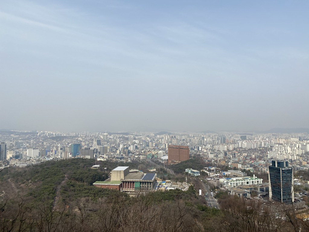 Namsan hiking 202003