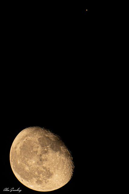 Moon and Mars