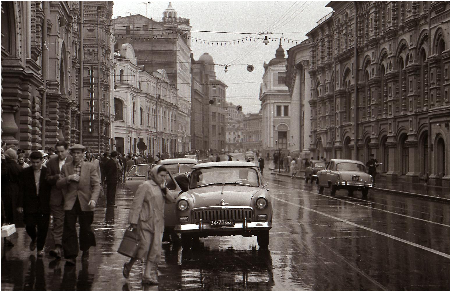 45. 1961. Ильинка ( у ГУМа).