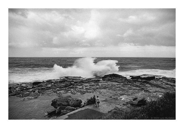 Wave watching, Sydney coast, winter 2020  #220