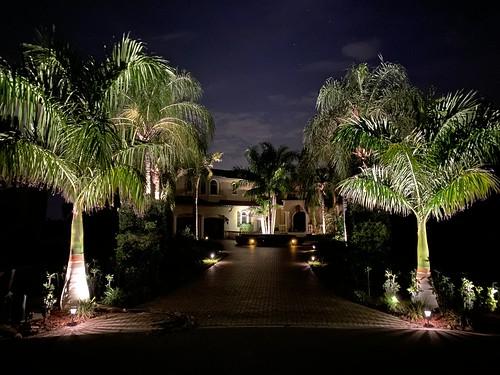 imran dogs streetview night lighting architecture home driveway trees noedit sooc iphone luxurylifestyle luxuryhomes lifestyle neighborhood symphonyisles apollobeach tampabay florida