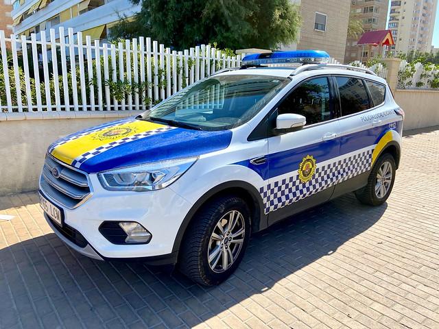 Policía Local de Alicante.