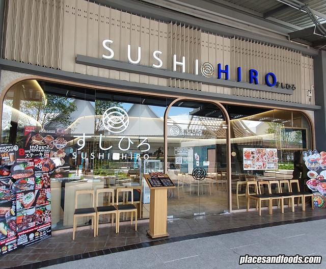 sushi hiro bangkok outlet