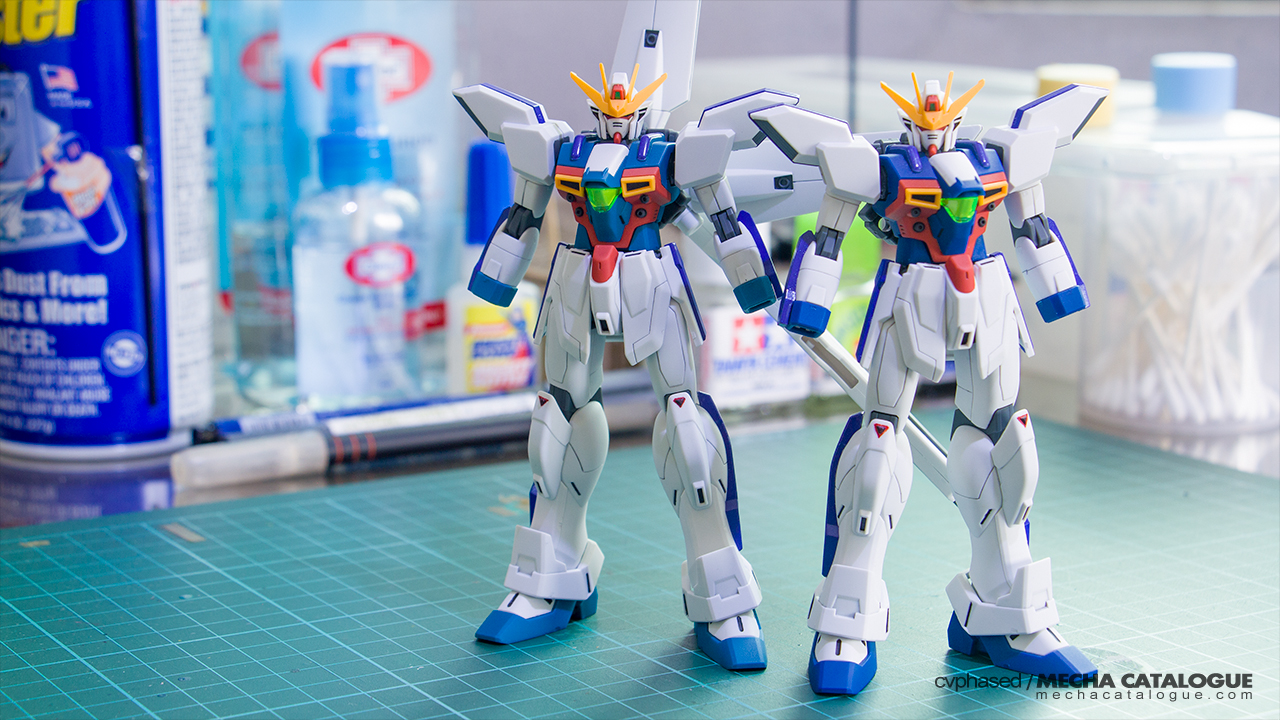 Double (X) Builds! Work-in-Progress #1: HGAW Gundam X / X Divider