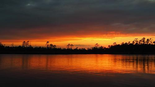 sunset sunsetsandsunrisesgold fairfieldharbour northcarolina northwestcreek river olympus cloudscape cloudsstormssunsetssunrises