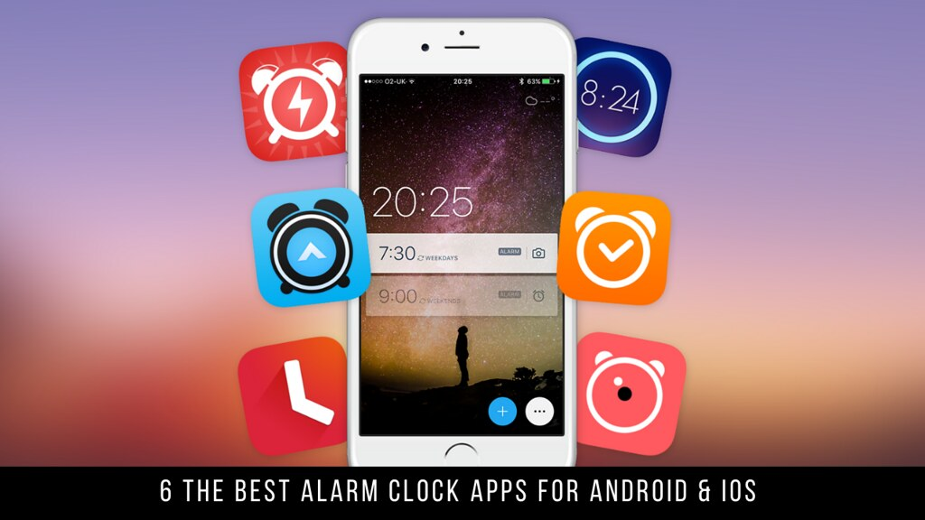 6 The Best Alarm Clock Apps For Android & iOS