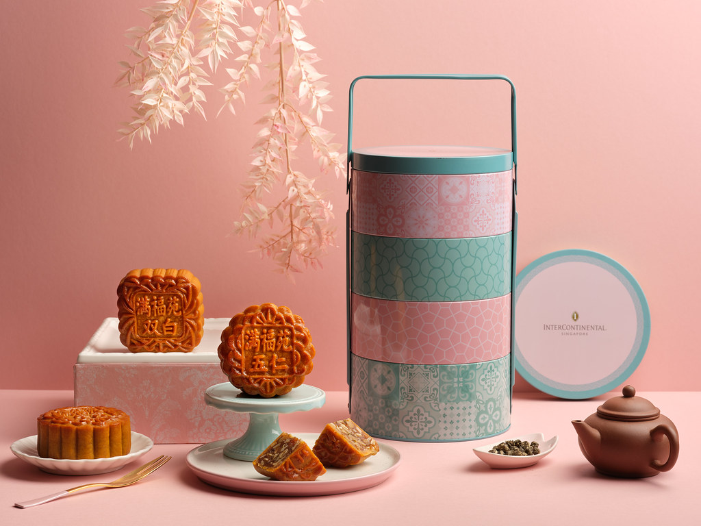 InterContinental Singapore Baked Mooncakes