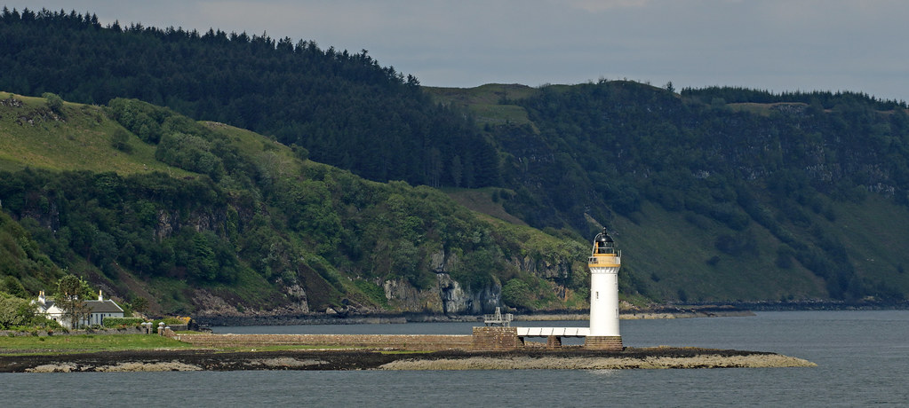 Rubha nan Gall Lighthouse, Tobermory, Isle of Mull.