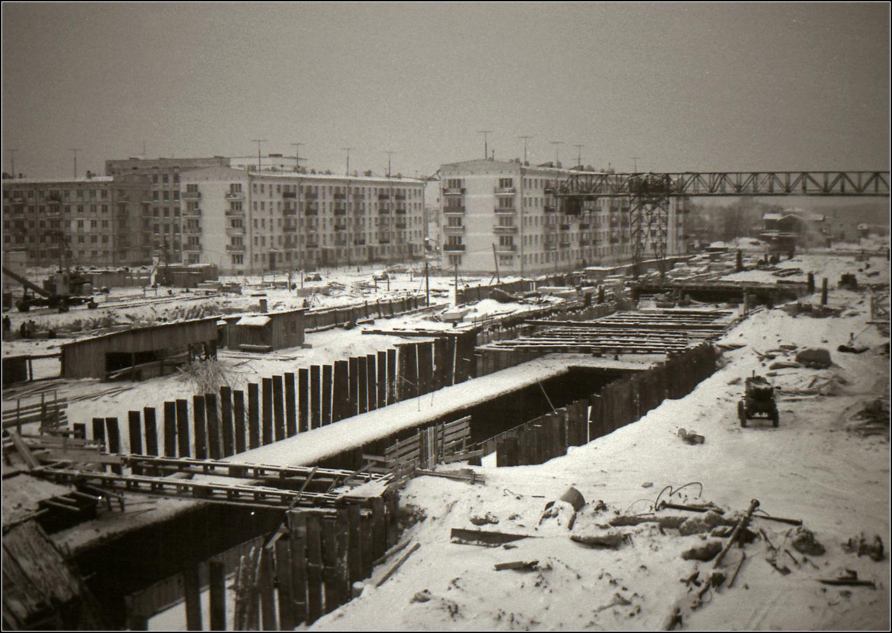 61. 1962. На подходе к станции Щелковская. Снято из окна дома 66 по 9–й Парковой ул.