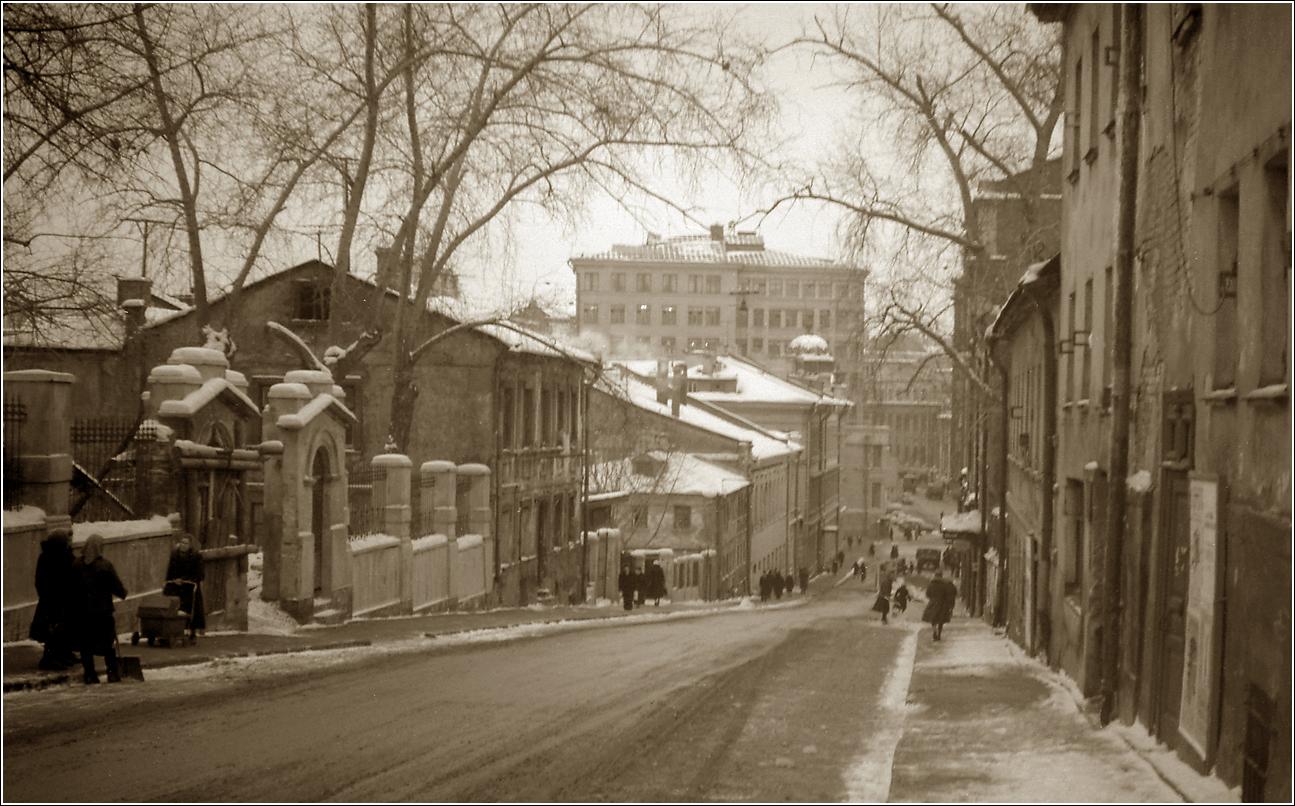 55. 1962. Звонарский переулок