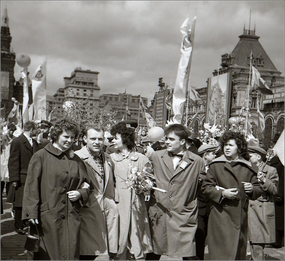 53. 1961. Красная площадь, 1 мая