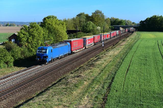 192 012-3 northrail / TX Logistik I  DGS 40569 I Langweid am Lech (10909)