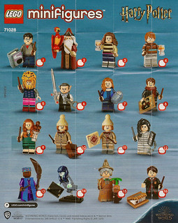 LEGO Collectable Minifigures Series Harry Potter - Series 2 (71028) | by Pasq67