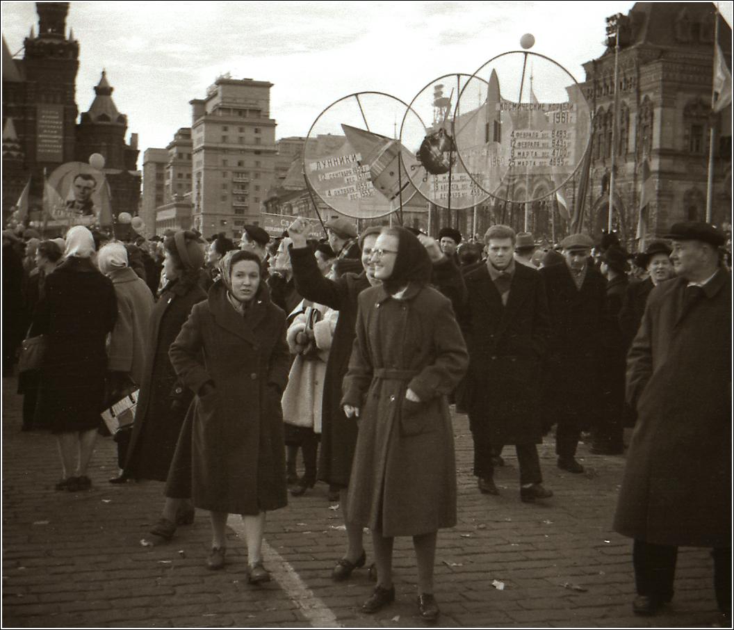 52. 1961. Красная площадь, апрель