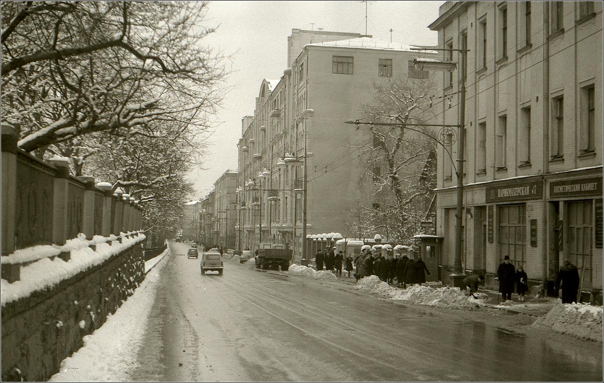 47. 1961. Гоголевский бульвар