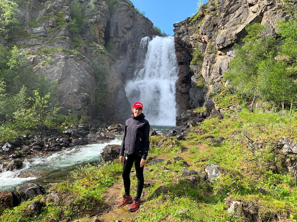 Kevon luonnonpuisto | Vesiputous