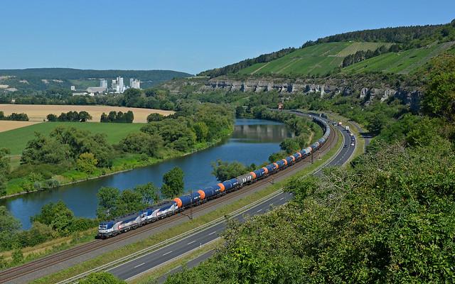 ZSSK Cargo 383 206-0 + 383 208-6 - Himmelstadt