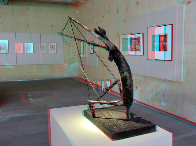 Bronze La Fourmi/de mier by Germaine Richier Mensbeeld-Mensbeest BAZ 3D