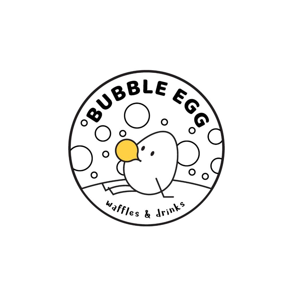 Bubble Egg Company Logo Broken Rice Kitchen LLC Tuyen Chau Client