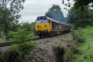 50 007 heading to Highley