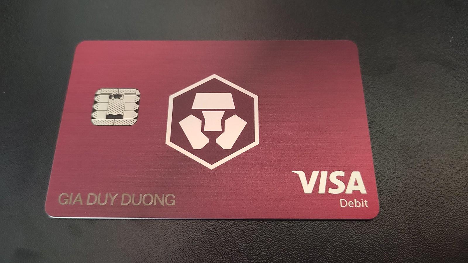 Thẻ cashbak Crypto