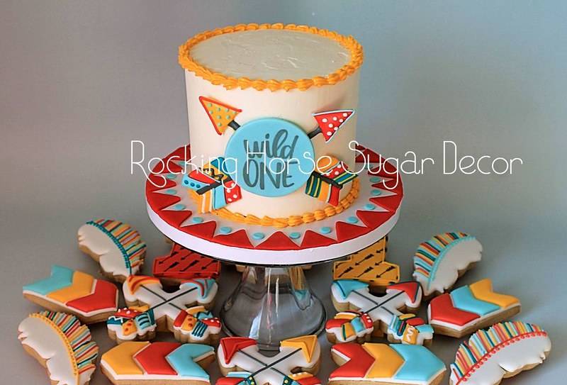 Cake by Rocking Horse Sugar Decor