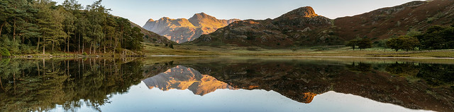 5 Shot Pano of Blea Tarn