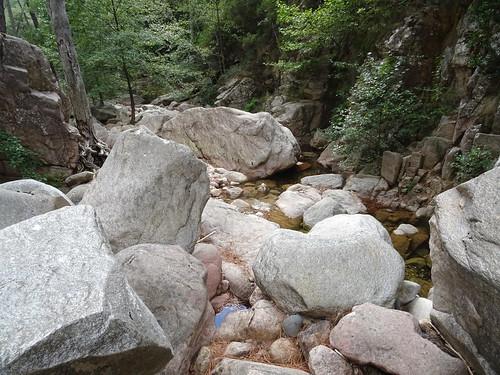 Carciara aval depuis la confluence Carciara/Frassiccia