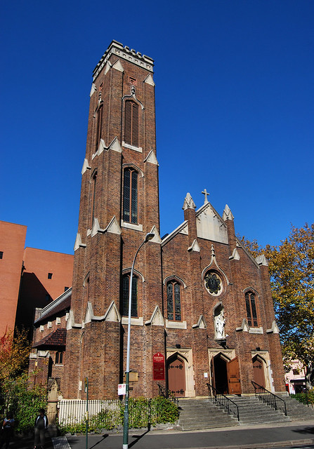 Sacred Heart Catholic Church, Darlinghurst, Sydney, NSW.