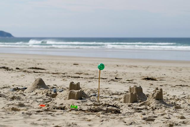 Sandcastle fortress