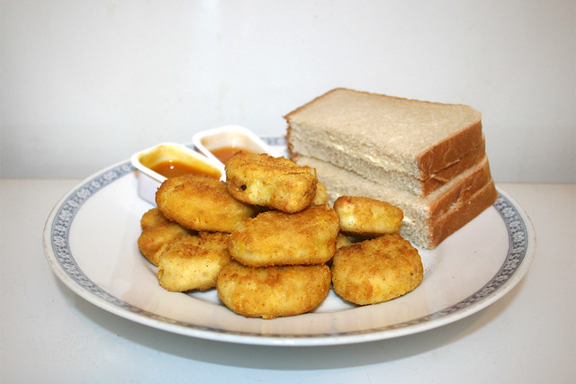 Chicken Nuggets - Side view