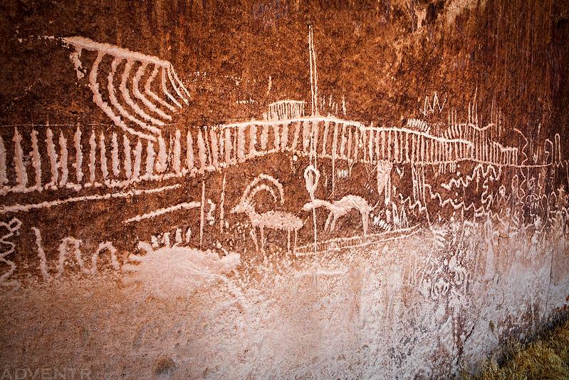 White River Narrows Petroglyphs